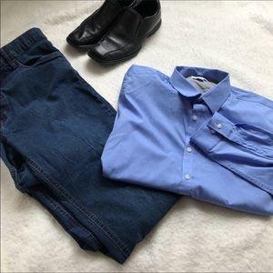 NWT Men's Calvin Klein Dress Shirt
